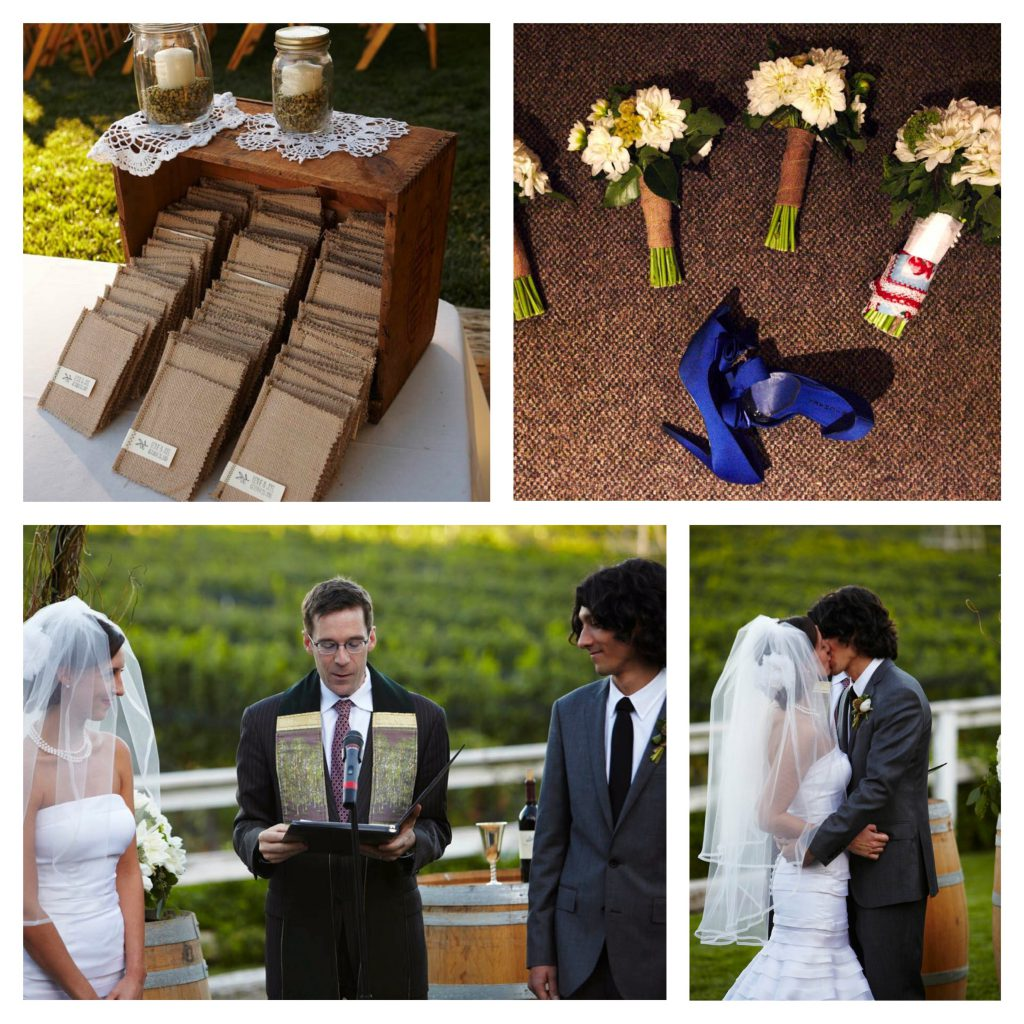 Wine Wedding: Lincourt Winery Wedding Under A Full Moon